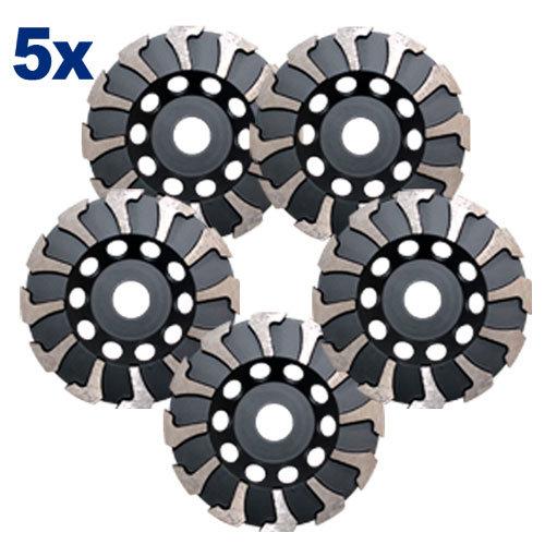 Diamantschleiftopf-Set, 5 Stück Art. 55527