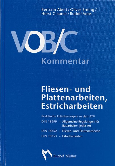 VOB/C Kommentar - Fachbuch