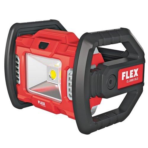 Akku Baustrahler LED von FLEX aus dem praktischen FLEX Akku-Programm | 18 V Akku gleich dazu kaufen!