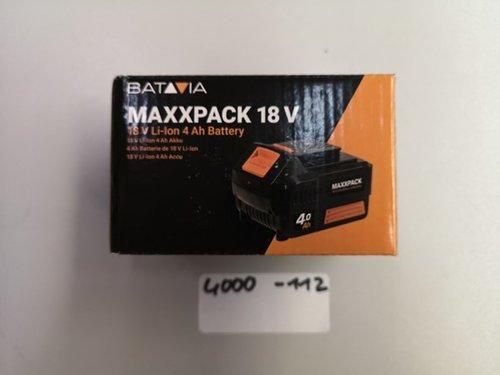 Batavia Li-Ion Akku 18V 4Ah