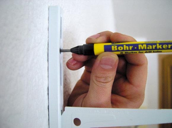Markierungsstift für Bohrlöcher