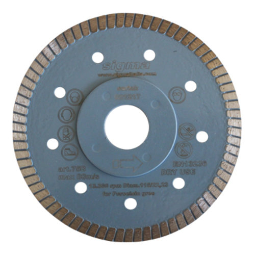 Diamant-Trennscheibe Sigma Turbo Ø 115 mm