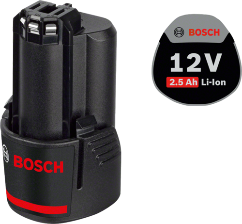 Ersatzakku von Bosch, 12 V/ 2,5 Ah, Art.-Nr. 40779