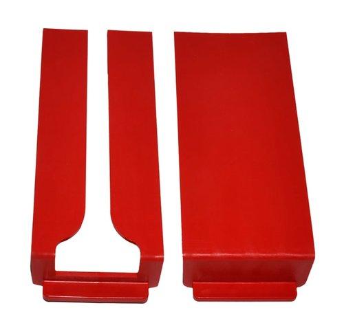 Ersatzdeckel, 1x geschlossen, 1x auf der Art Seite offen. 16182 für den Entstaubungstisch Art. 16180