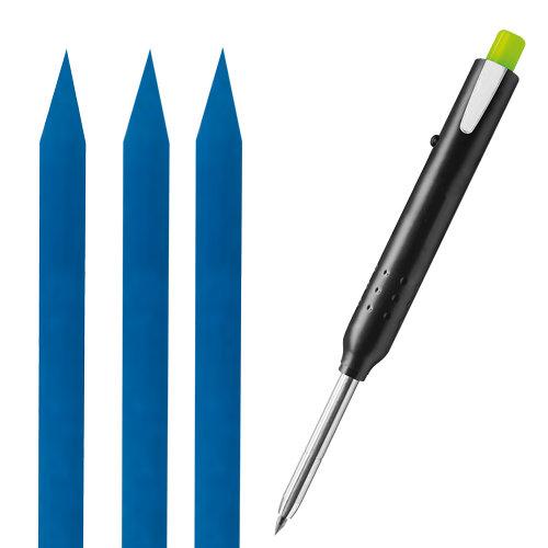 Ersatzminen wasserfest blau zu Tieflochmarker für Nassschnitte