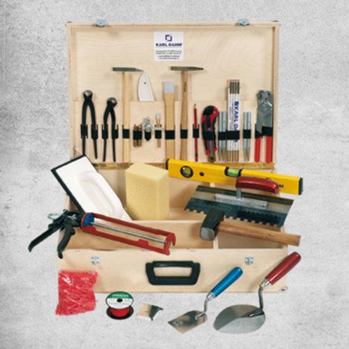 Fliesenleger Werkzeugausrüstung Standard