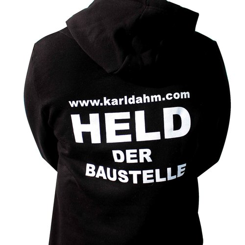 Held der Baustelle Hoodie von Karl Dahm