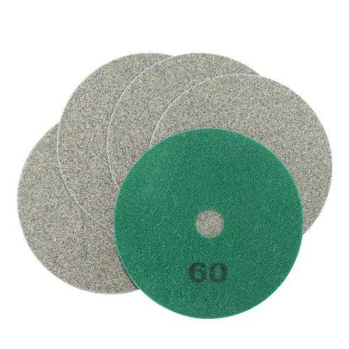 Schleifscheiben grün, Ø 100 x 15 mm, Körnung 60, 5 Stück, Art.-Nr. 50495