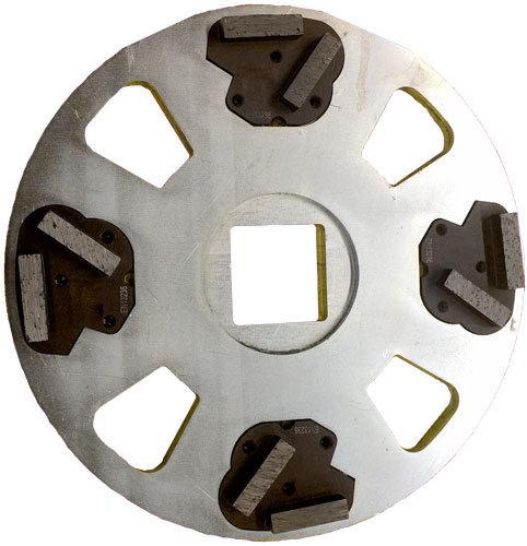 Schleifset K40 4 Stück mit Teller, Art Nr 40514
