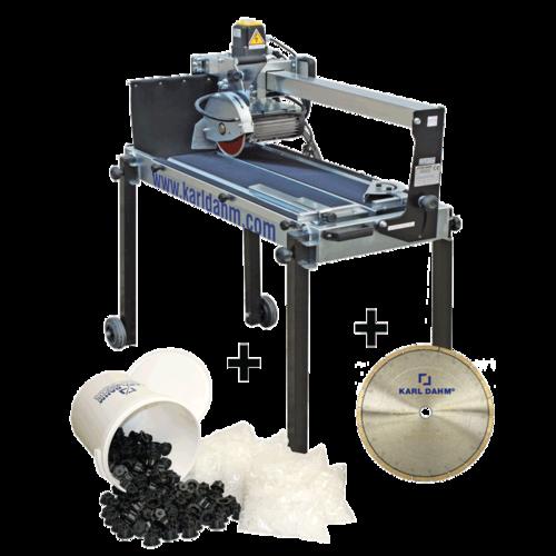Steintrennmaschine D8, 1000 mm, inkl. Räder und Nivelliersystem Art. 35168