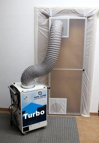 Staubabsaugung Turbo inkl. Schwingtür/ Schlauch, Art.-Nr. 40626