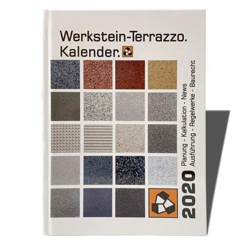 Werkstein-Terrazzo.Kalender 2020 - Der perfekte Begleiter für den Fliesenleger im Alltag