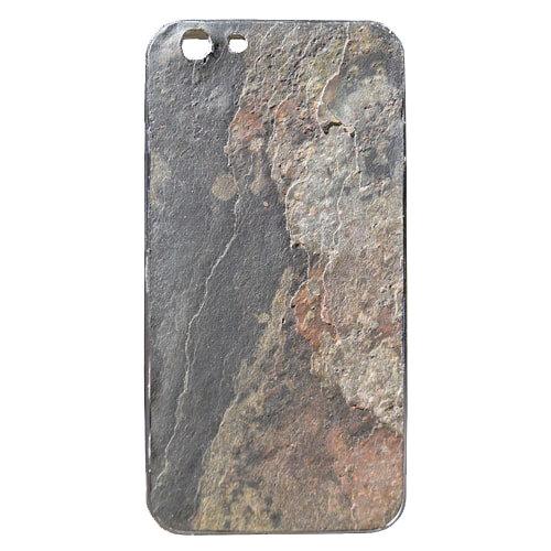 Hülle für iPhone X/XS aus Naturstein Farbe Rustic Earth
