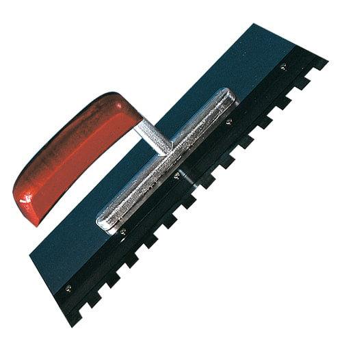 Zahnglättekelle für auswechselbare Zahnleisten - Lieferung ohne Zahnleiste
