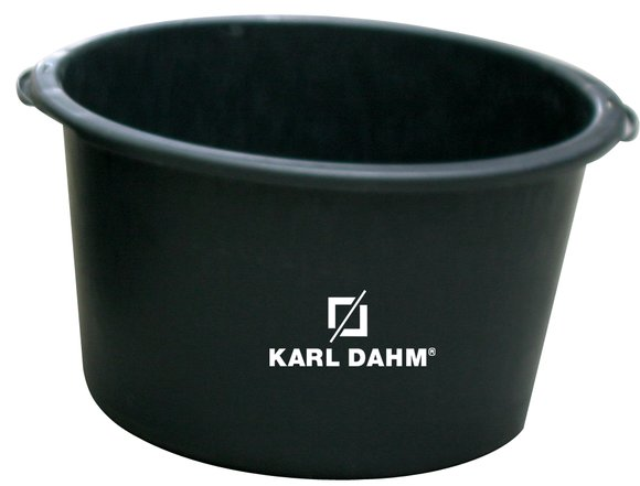 Round mortar bucket - Karl Dahm Online Shop