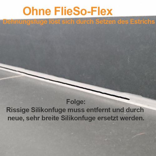 FlieSo-Flex flexible Sockelbefestigung NEU und nur bei uns: 100 Stück, Art.-Nr. 12595