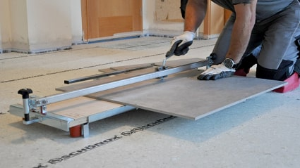 Tile cutter shop