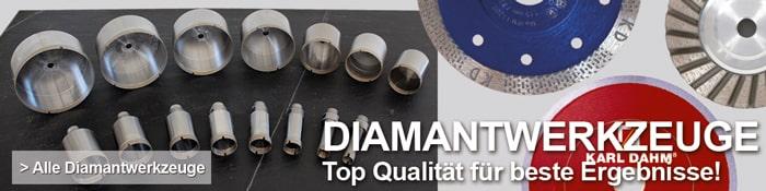 Diamantwerkzeuge von KARL DAHM - Top Qualität für beste Ergebnisse!