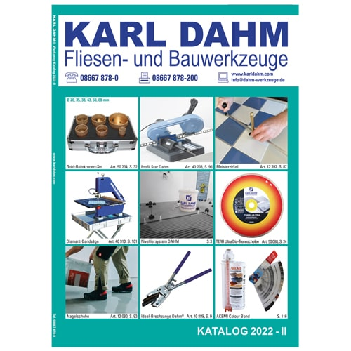 Karl Dahm Werkzeugkatalog 2020-II kostenlos anfordern