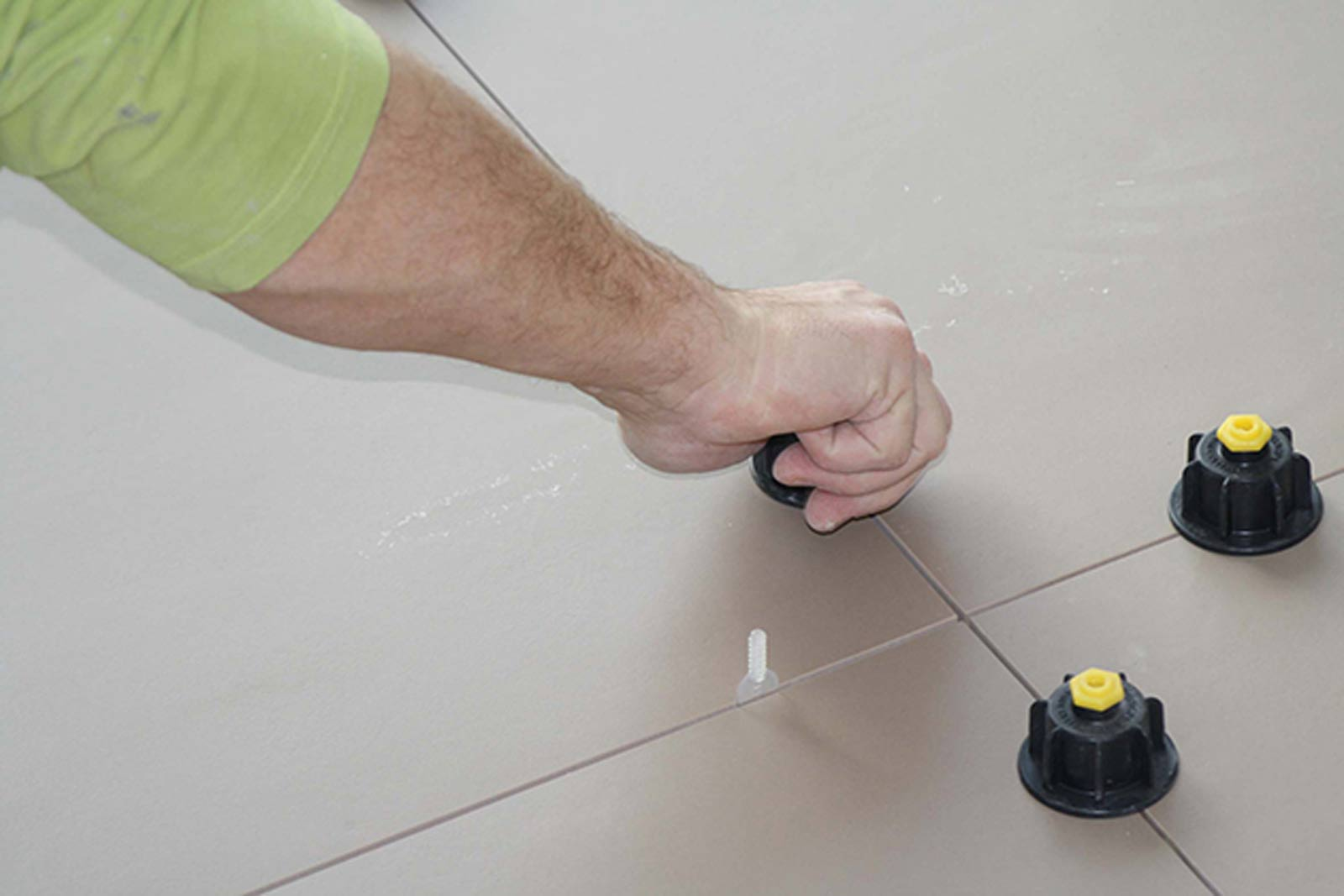Nivelliersystem Gewindelaschen Basis 2500 Stuck Art 12457
